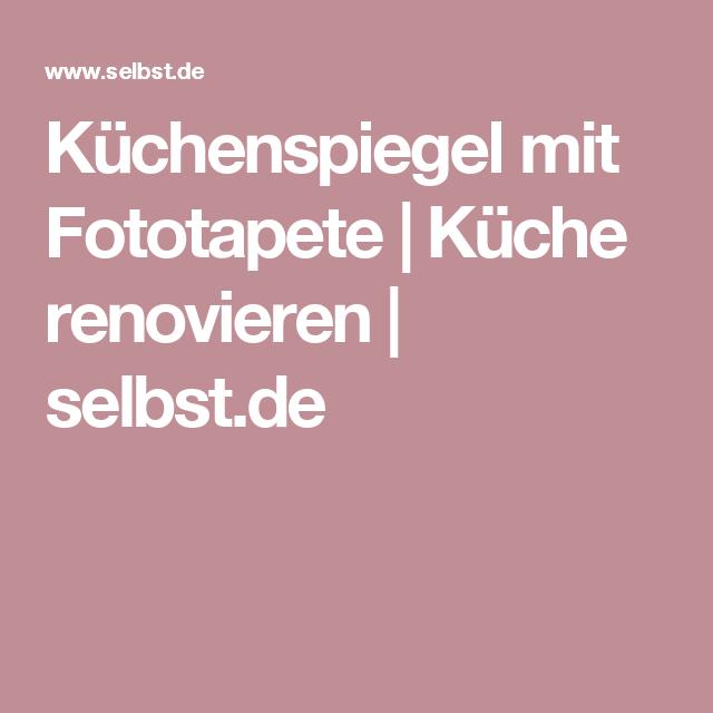 Küchenrückwand Plexiglas | Küche | Fototapete küche, Küche ...