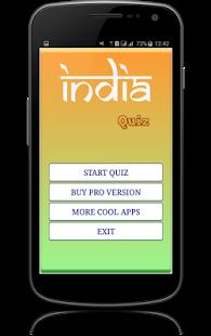 India General Knowledge Quiz game.