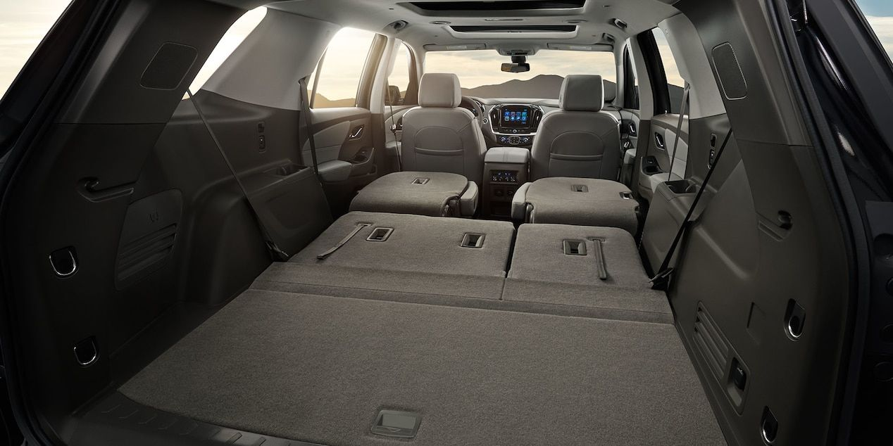 2018 Traverse Midsize Suv Design Cargo Space Mid Size Suv Best