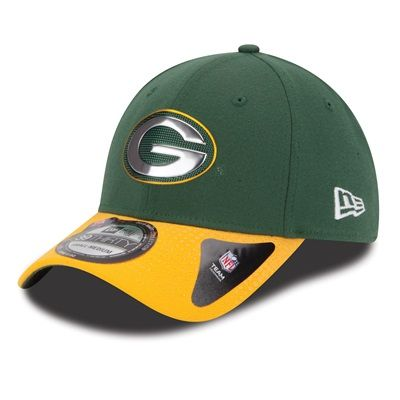 Green Bay Packers New Era 39THIRTY Official Draft Collection Cap 2015 2016 36ebab00d67