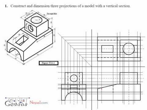 Engineering Drawing Video Tutorial | geniusnepal