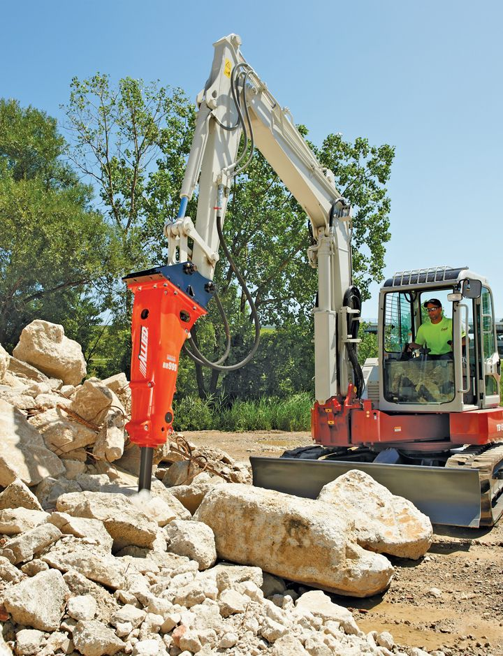 Breakers And Compactors We Tackle Two Core Attachments For Mini Excavators Construction Compact Mini Excavator Excavator Heavy Equipment