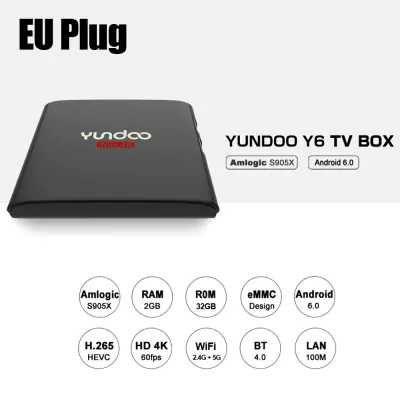 Yundoo Y6 Eu Plug 2g 32g Tv Box Sale Price Reviews Gearbest Plugs Tv Box