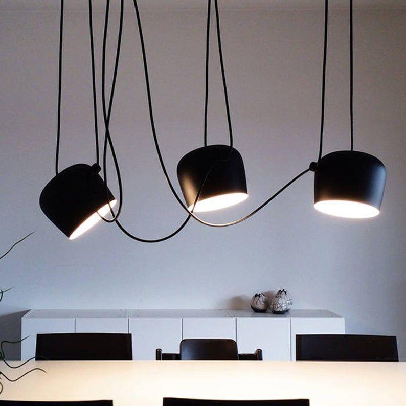 Modern black white Multi Pendant Light Kitchen chandelier