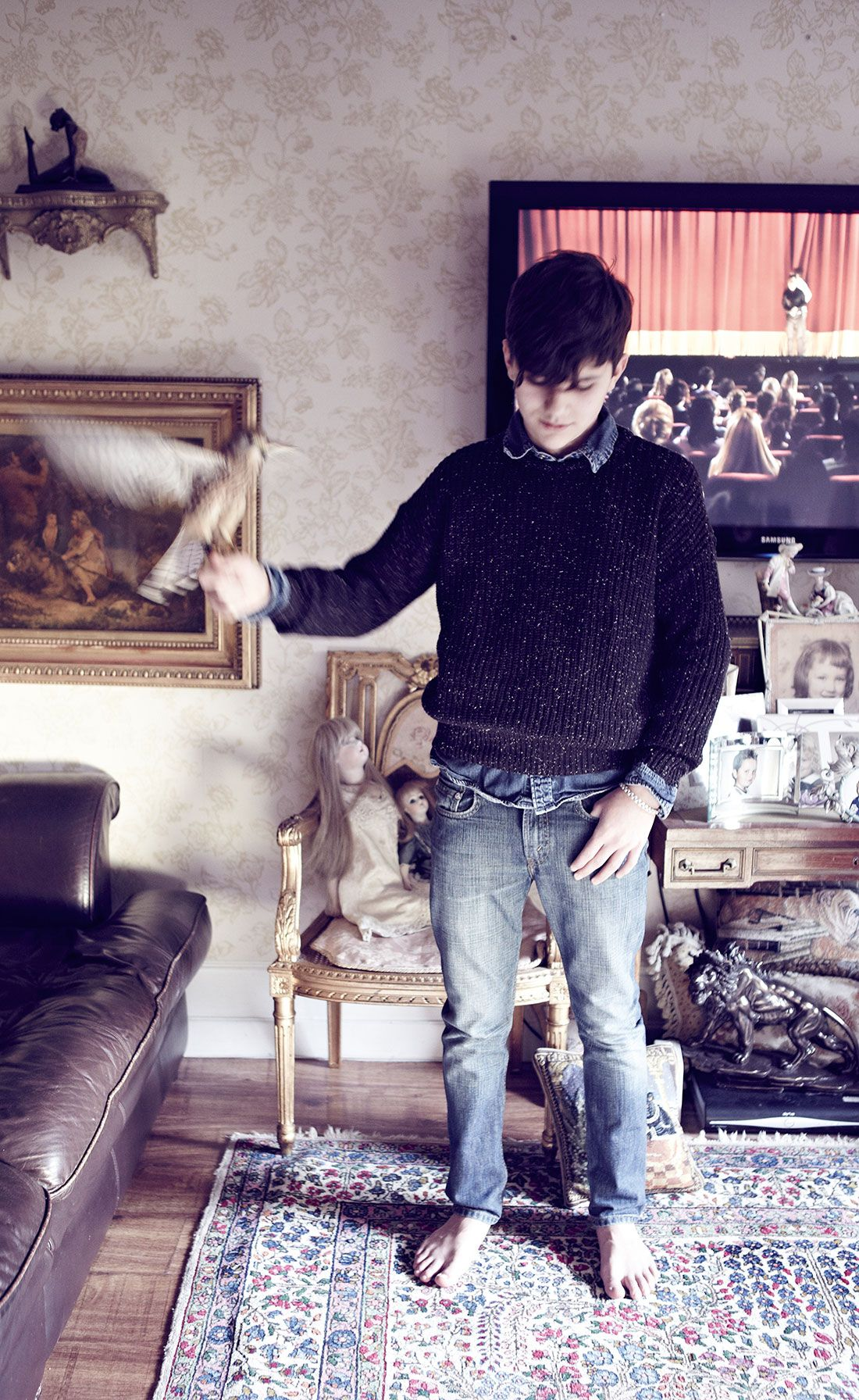 SERIE MODE : KES   Photos : Ross Bolger  Style : Jo McGuinness