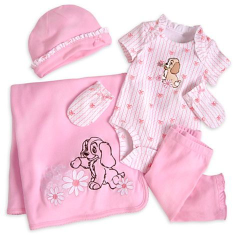47aea15a246d Lady Welcome Home Set for Baby from DISNEY STORE