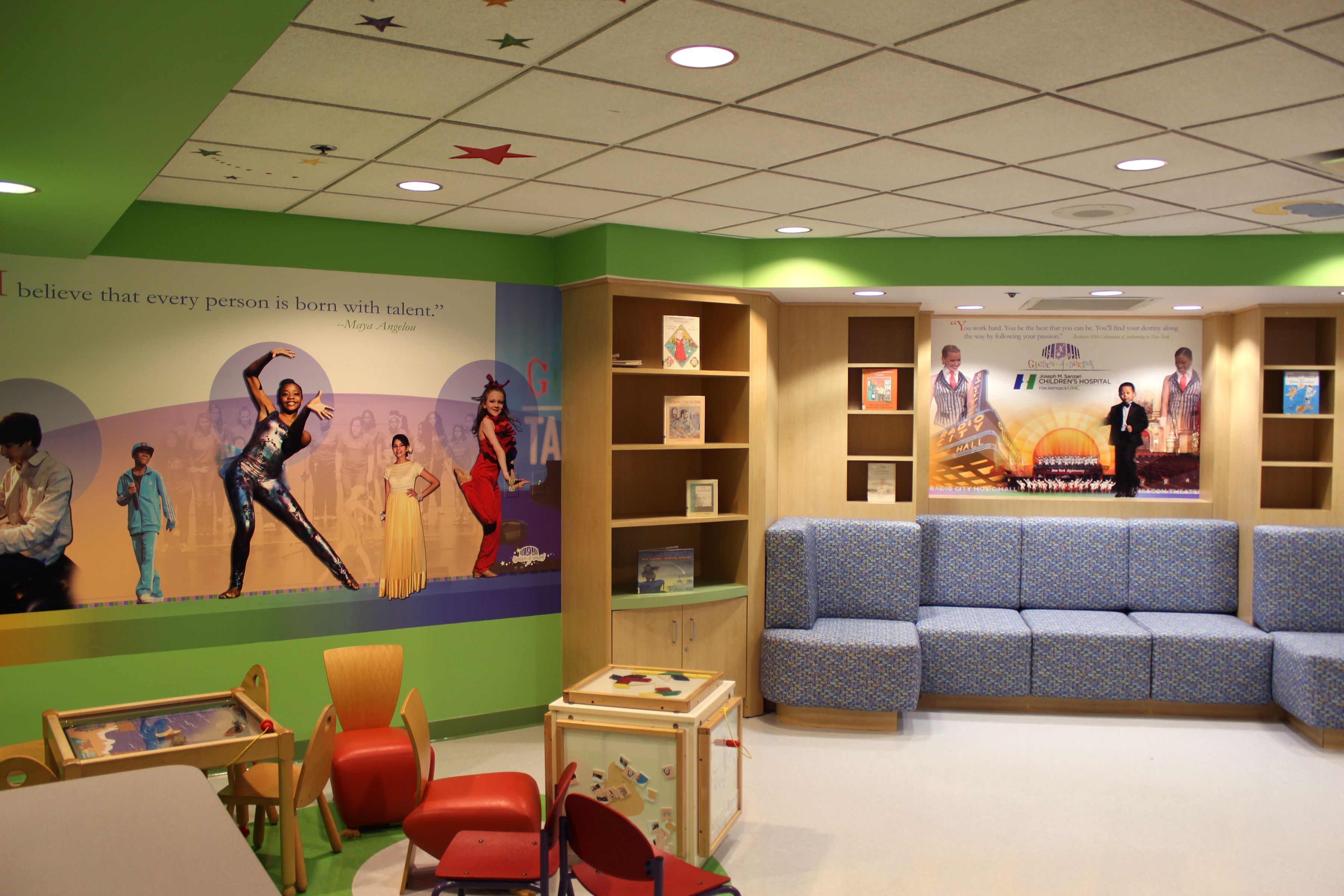 Rsc Architects Hackensack University Medical Center Pediatrics Outpatient Registration Pediatrics Medical University Medical Center