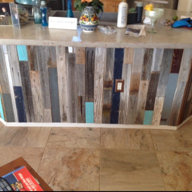 Accent Pallets Planks On A Painted Wall: Reclaimed Wood Wall Paneling, DIY 3-in. Planks, Largest