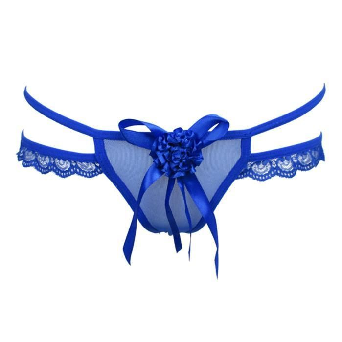 2a77e374441 Womens Fashion Sexy Lace Thongs G-string T-back Panties Lingerie Underwear  BK