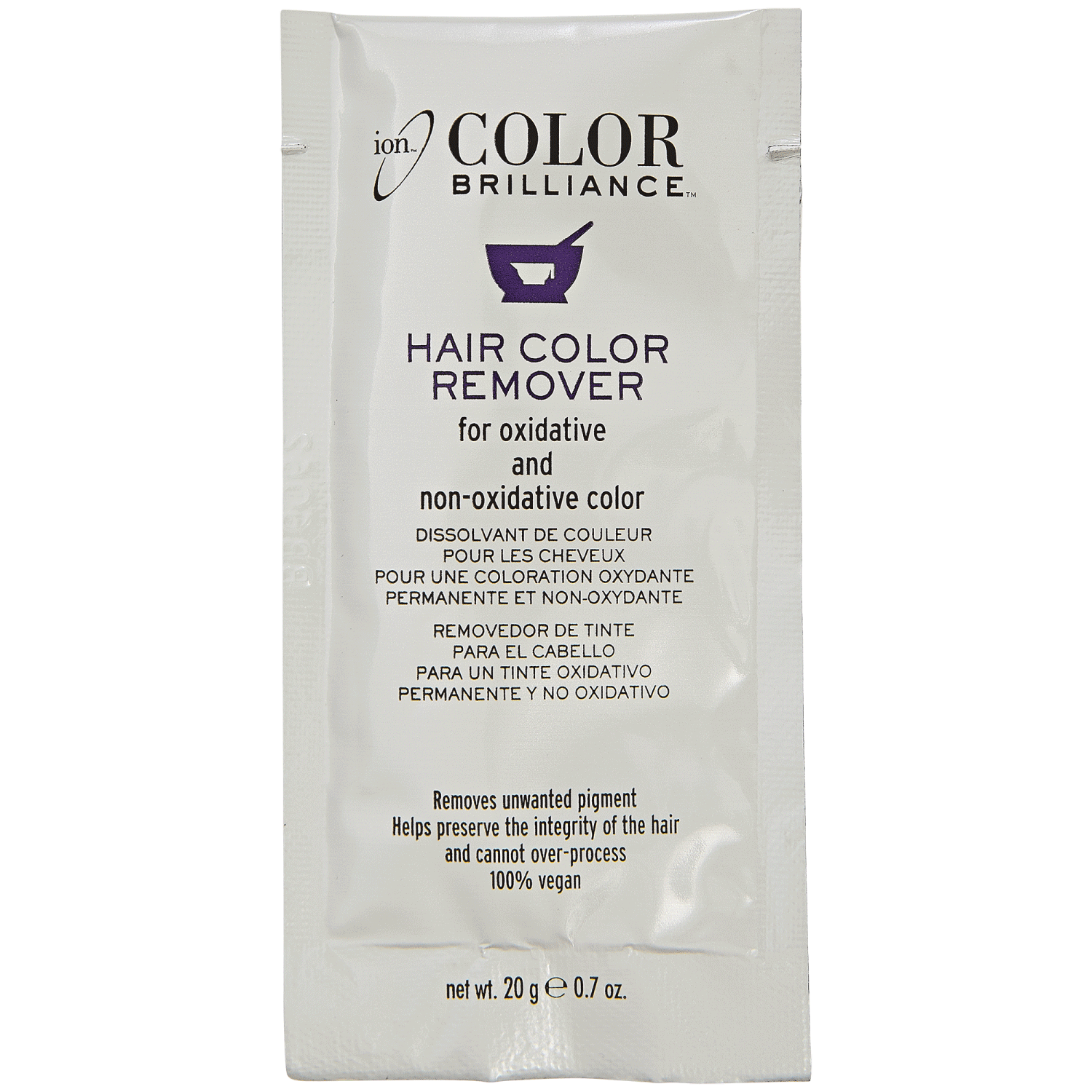 Ion Color Brilliance Hair Color Remover Removes Unwanted Pigments While Preserving The Integrity Of The Hair Hair Color Remover Colour Remover Ion Hair Colors