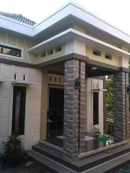 33 Foto Rumah Minimalis Ala Indonesia Ini Sering Trend Di Group Facebook Di 2020 Rumah Minimalis Home Fashion Rumah