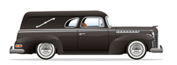 Did you know - Chinese superstition believes - if you meet a coffin-laden hearse on your way to work, it symbolizes big success coming your way in your job or a promotion. The explanation is that the coffin will take away all your bad luck leaving you only with good fortune.