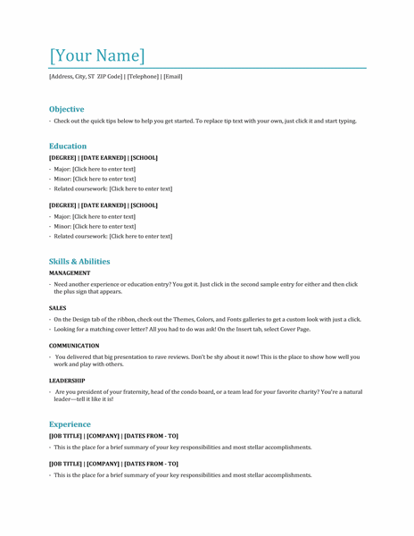 esthetician resume template download http www resumecareer info