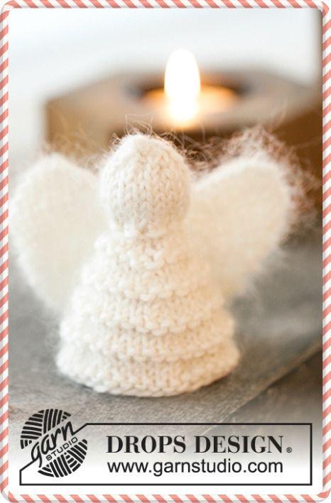ange au tricot tricot pour no l motif gratuit tricot noel et tricot no l. Black Bedroom Furniture Sets. Home Design Ideas