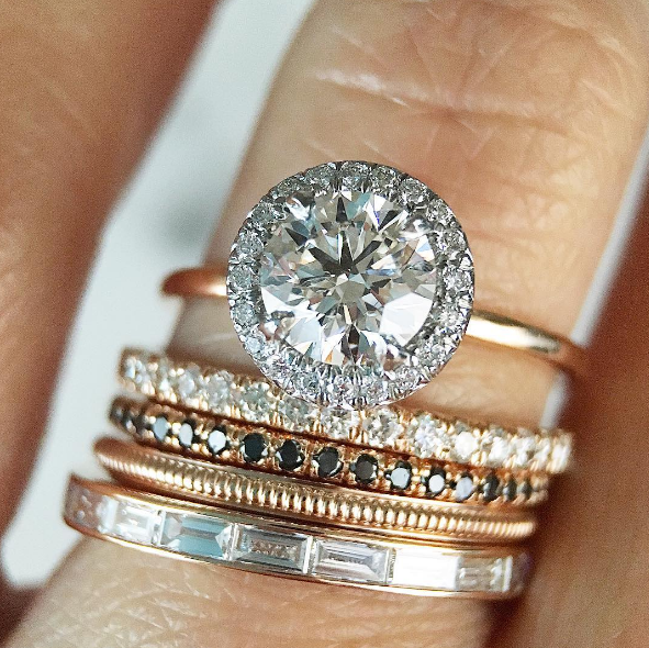 14 Stunning Stackable Ring Sets For The Modern Bride Stackable