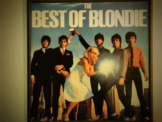 Glittered Record Album Blondie Etsy In 2021 Best Of Blondie Blondie Albums Blondie Songs