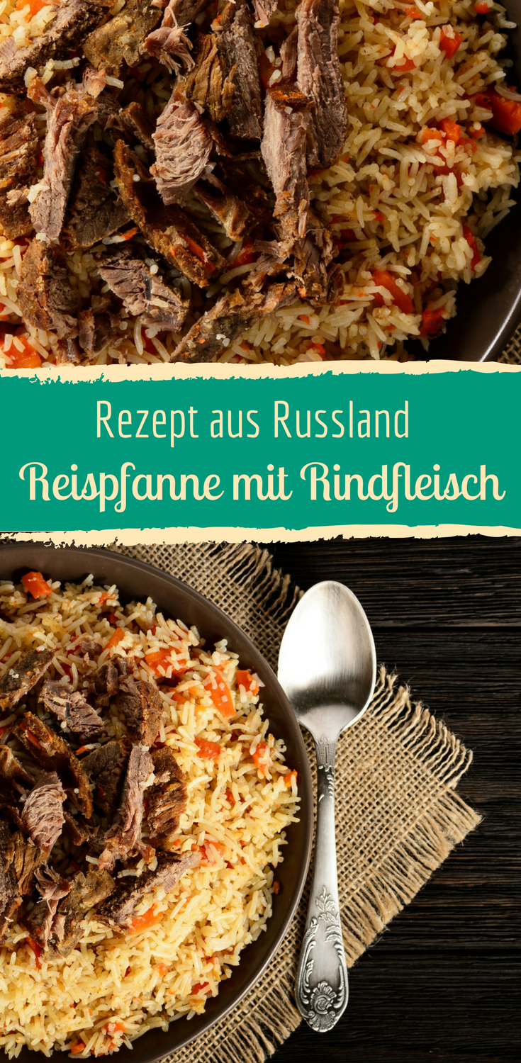 Photo of Russische Reispfanne mit Rindfleisch