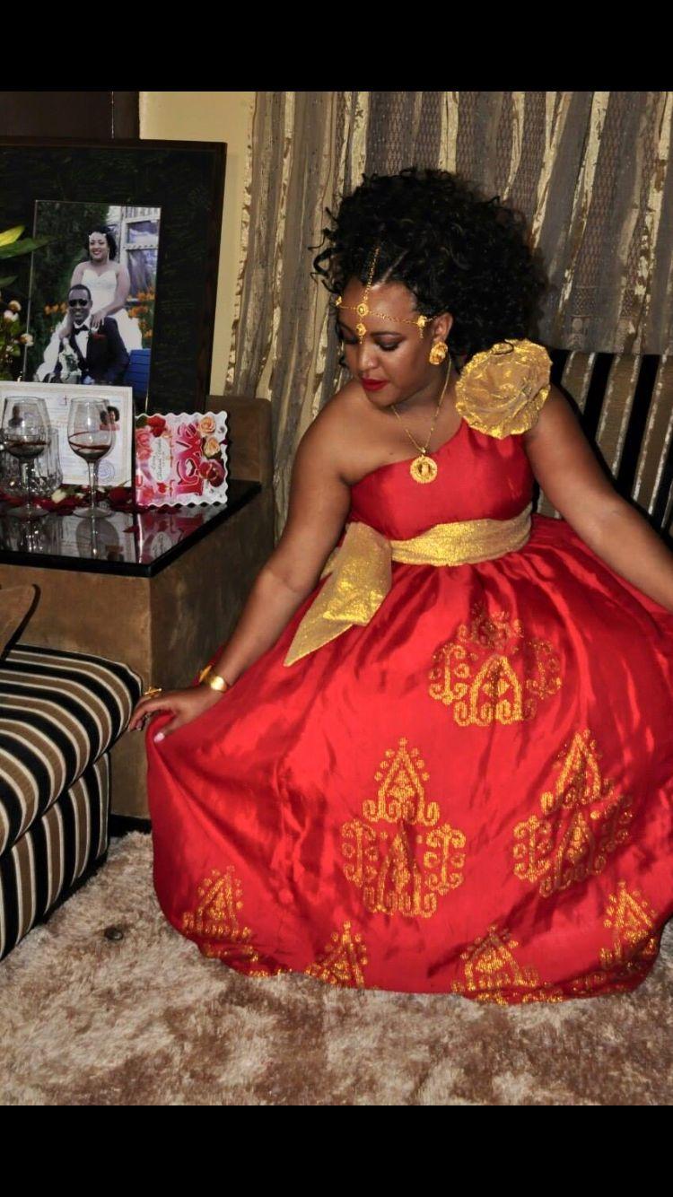 Beautiful melse dress for wedding celebration ethiopian for Habesha dress for wedding
