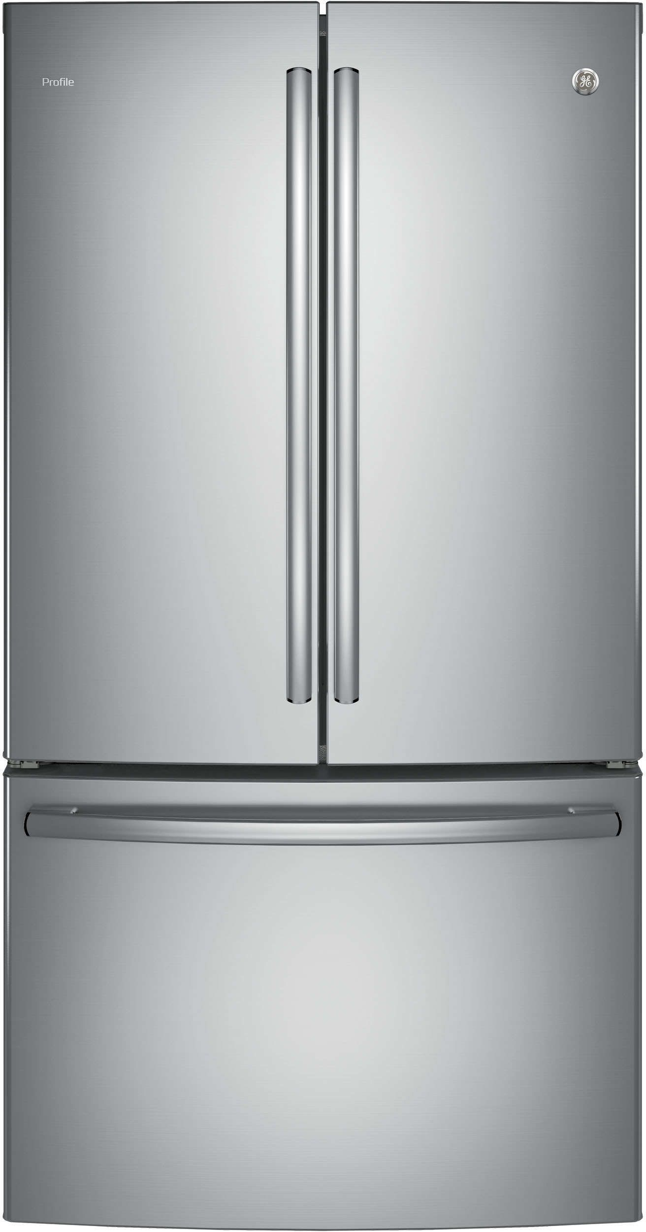 Ge Profile Pwe23kskss 36 French Door Refrigerator Buy More Save More Watch You Counter Depth French Door Refrigerator French Door Refrigerator French Doors