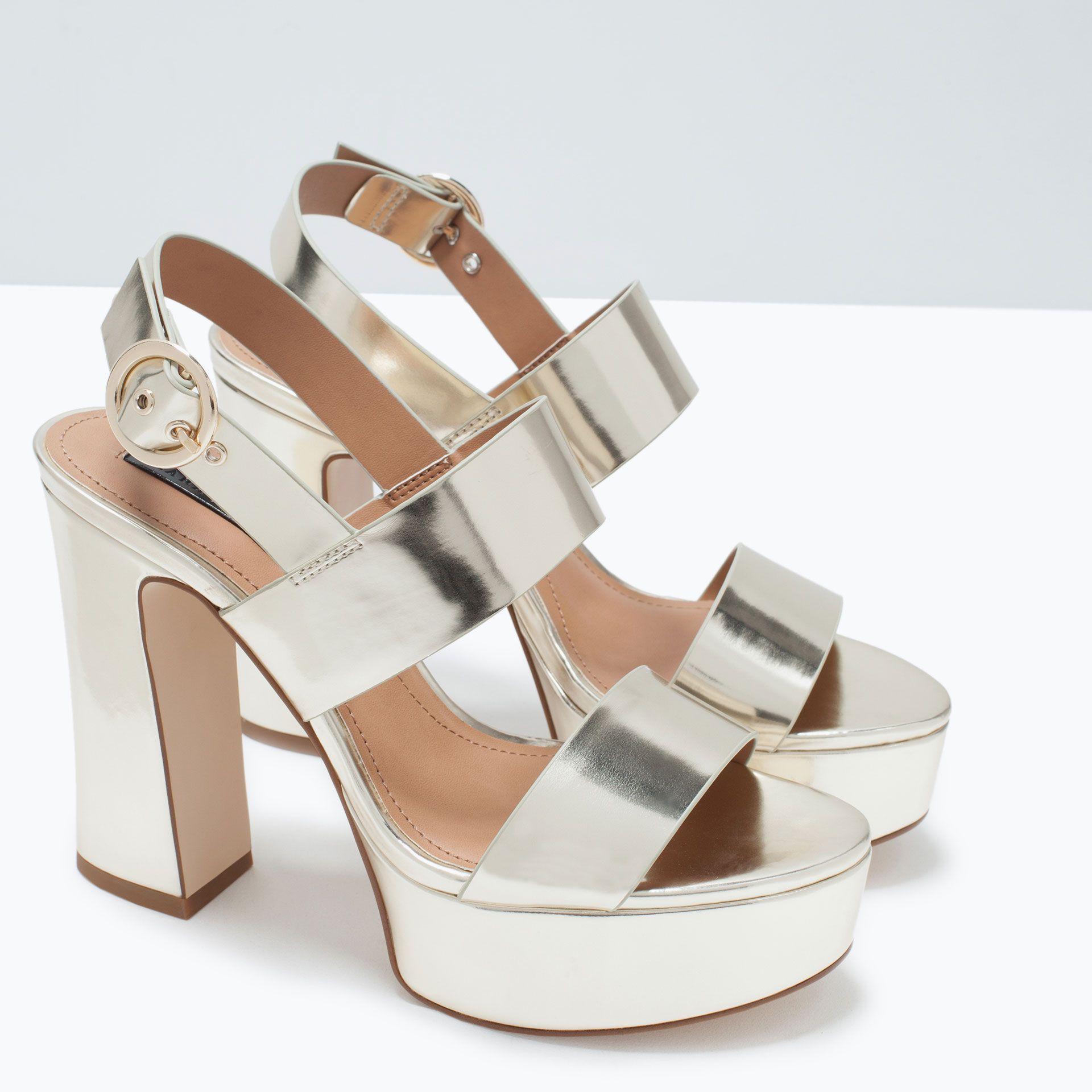 Sandales France Plateforme Femme À Zara Trf Chaussures rn84rqwzv