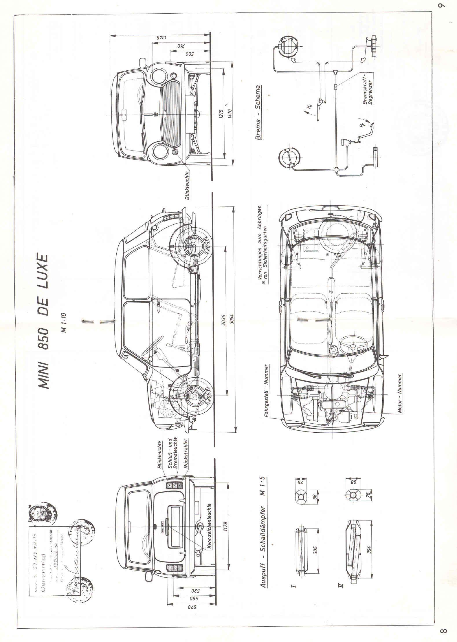small resolution of austin mini cooper 850 de luxe 1974 jpg