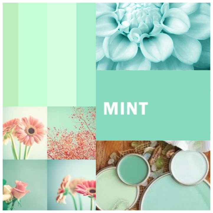 El Color Quot Mint Quot También Conocido Como Menta Turquesa O Azul Aguamarina Es Una De Los Colores M Decoración De Unas Verde Aguamarina Azul Aguamarina