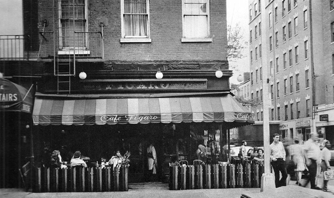 Cafe Figaro Greenwich Village 1960s Greenwich Village New York City Riverside Park