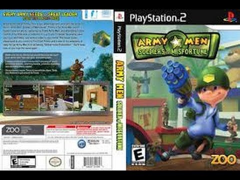Longplay Army Men Soldiers Of Misfortune On Playstation 2 Ps2 3rd
