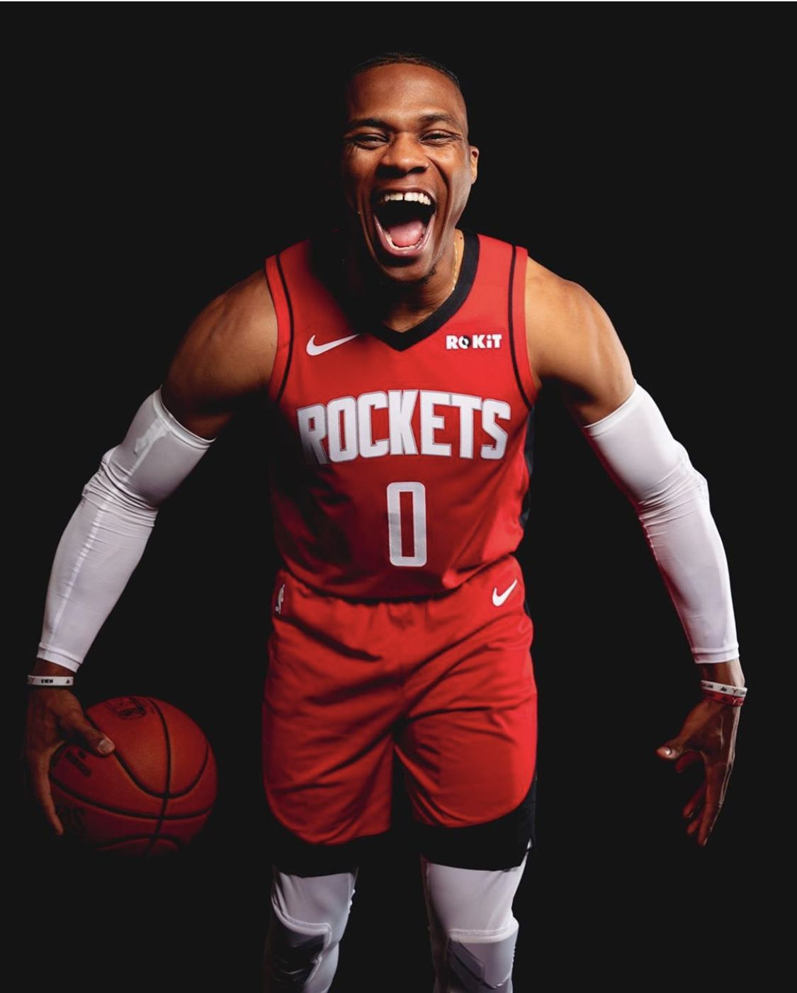 Russell Westbrook in 2020 Houston rockets
