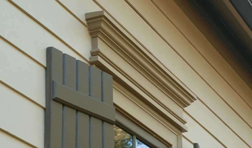 Victorian exterior window trim ideas exterior vents and - Decorative exterior door pediments ...