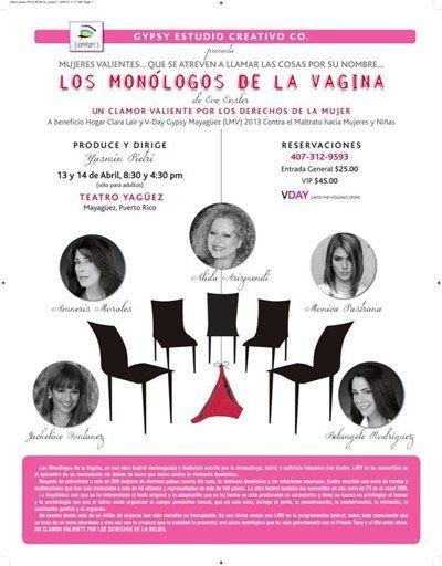Monólogos de la Vagina @ Mayagüez