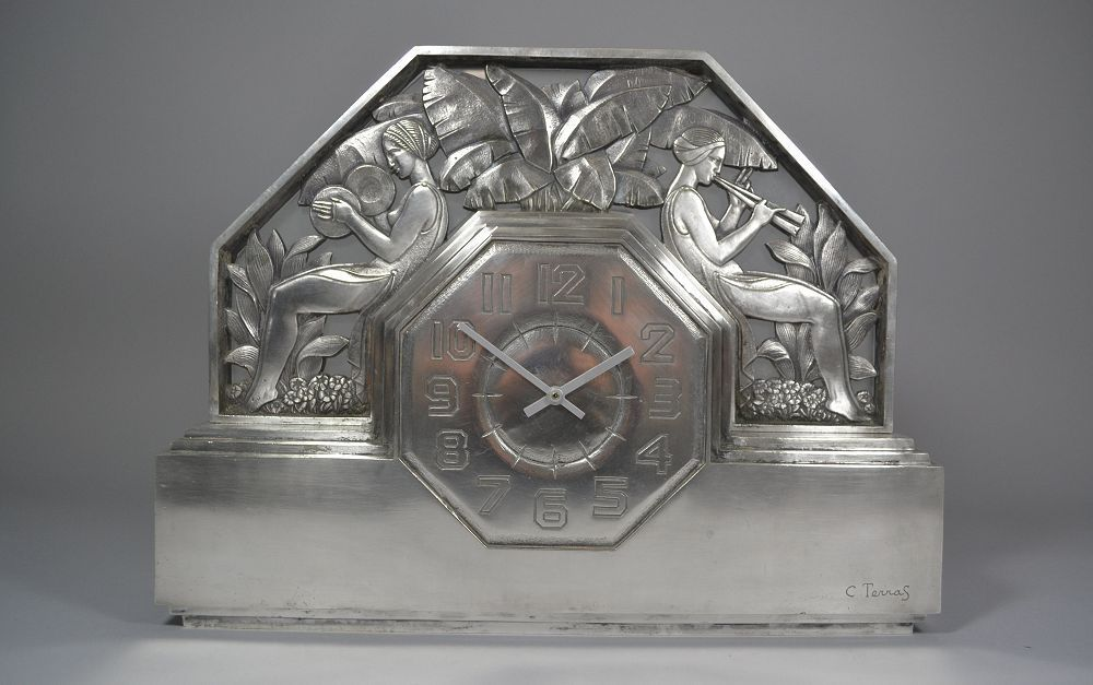 C. terras art deco clock u20ac1950 art deco pinterest art deco