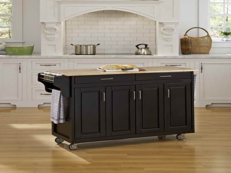 kitchen islands on wheels