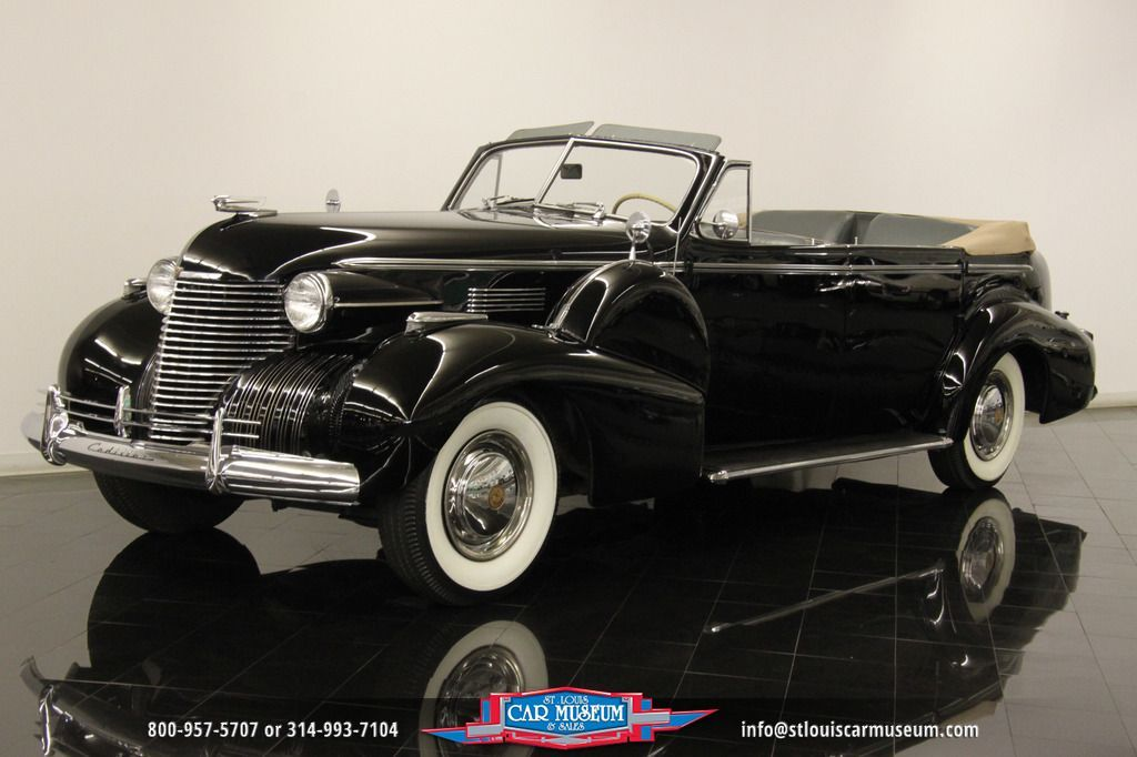 1940 Cadillac Fleetwood Series 75 Convertible Sedan for sale- http ...