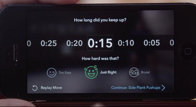 App paea smartphoones e tablets propõe treino personalizado de acordo com resposta do usuário aos exercícios.