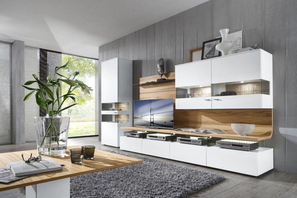 Gwinner Felino #Wohnmöbel Programm #Wohnzimmer #weiß #Holz ...