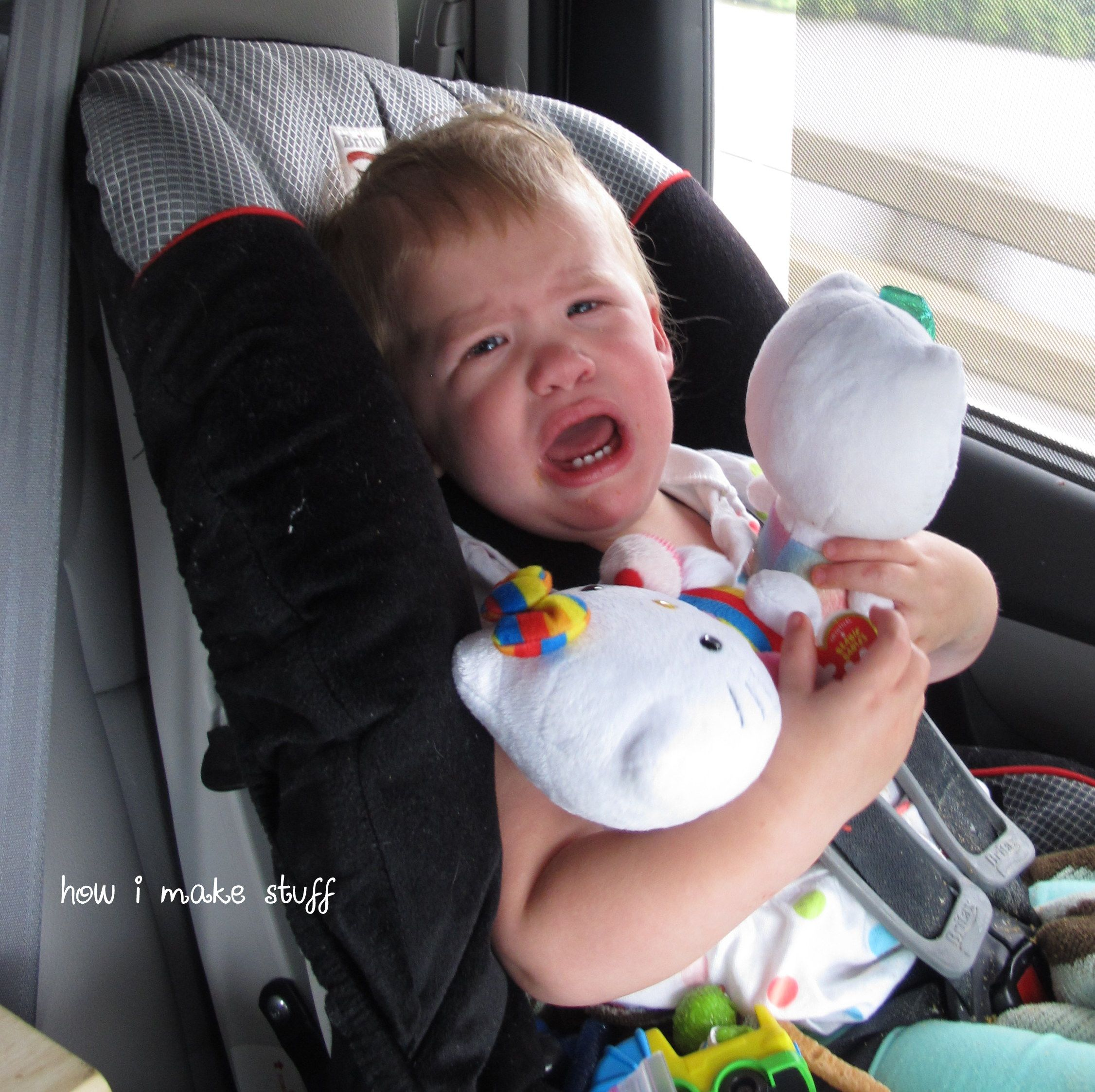 Long Trips With Toddlers