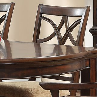 TRIBECCA HOME Cheshire Rich Espresso Traditional Dining Chair (Set of 2)   Overstock.com Shopping - Great Deals on Tribecca Home Dining Chai...