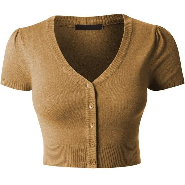 LE3NO Womens Lightweight Fitted Deep V Neck Bolero Cropped Knit ...