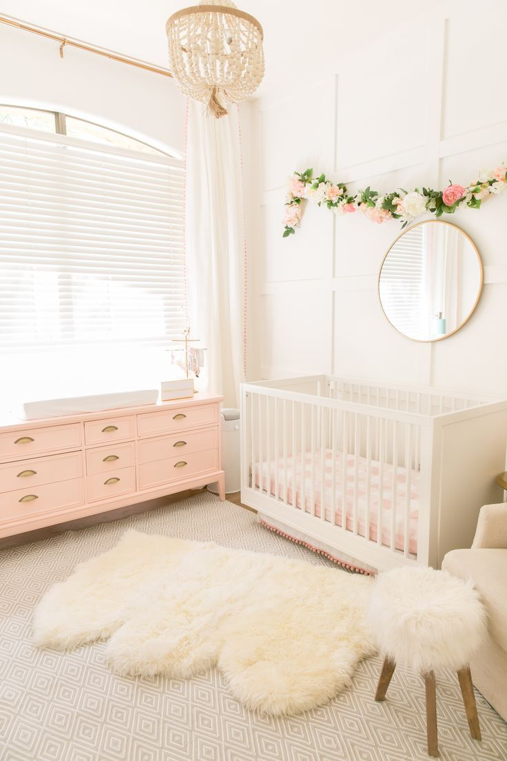 Pink and White Nursery - Project Nursery