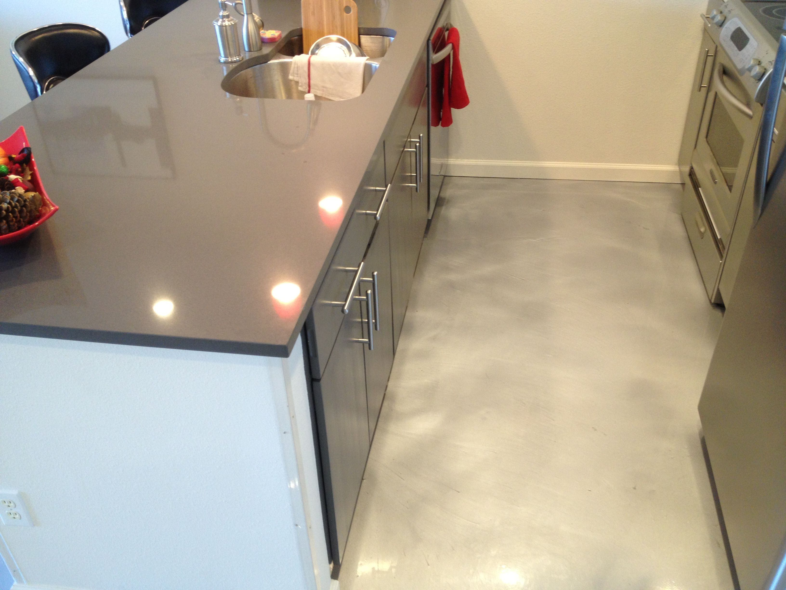 stained concrete - google search | small spaces | pinterest