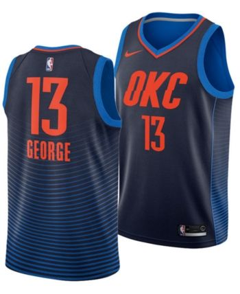 72fddec7dcd Nike Paul George Oklahoma City Thunder Statement Swingman Jersey ...
