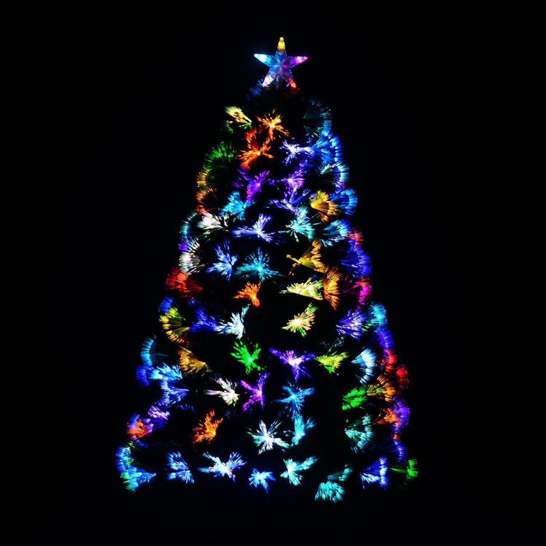 Raum mit lichtern dezente doch farbenfrohe beleuchtung für ihr weihnachtsfest das