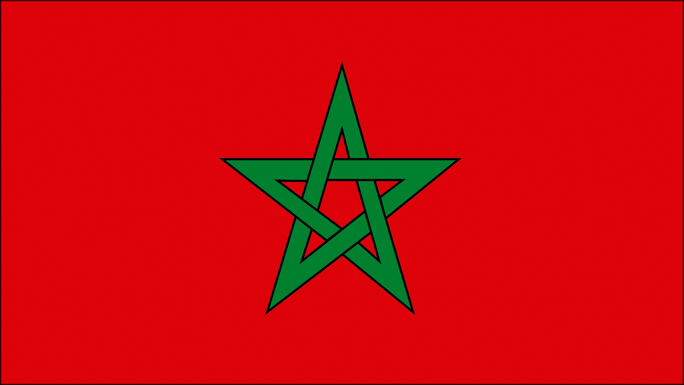 "MOROCCO Country Flag 12 /""X 18/"" Inch CAR STICK FLAG BANNER WITHOUT POLE..New"