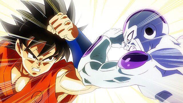 Goku Vs Frieza Anime Goku Vs Frieza Dragon Ball
