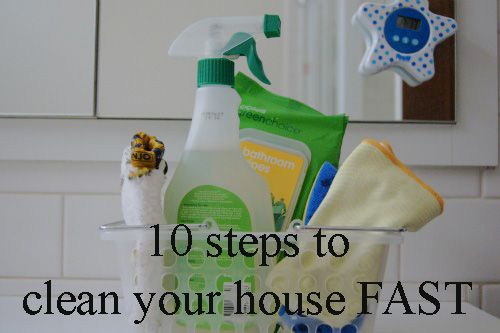 Clean Your House Fast Great Tips For A Quick Mid Week So That Things Don T Get Out Of Hand And You Spend Weekends Cleaning Up The Mess