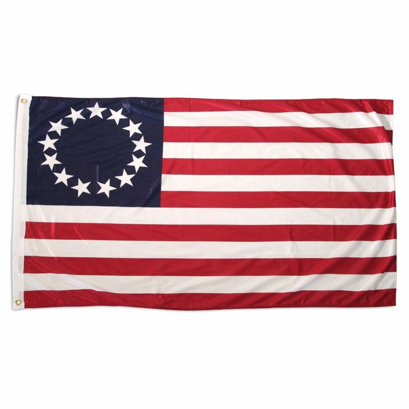 3X5 Ft Usa 13 Stars And Stripes National Flag Betsy Ross