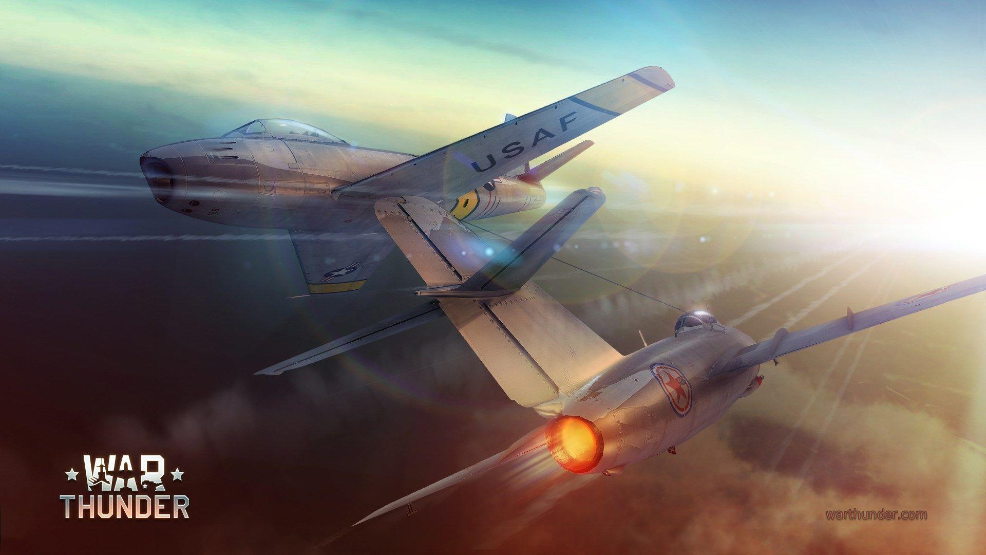 Обои Ме-410, war thunder, Самолёт, истребитель, война, Облака. Игры foto 12
