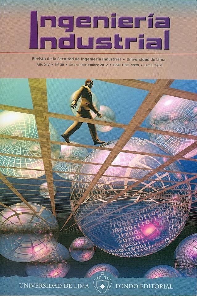 INGENIERÍA INDUSTRIAL (Ingeniería industrial: n° 30 - enero / diciembre / 2012)