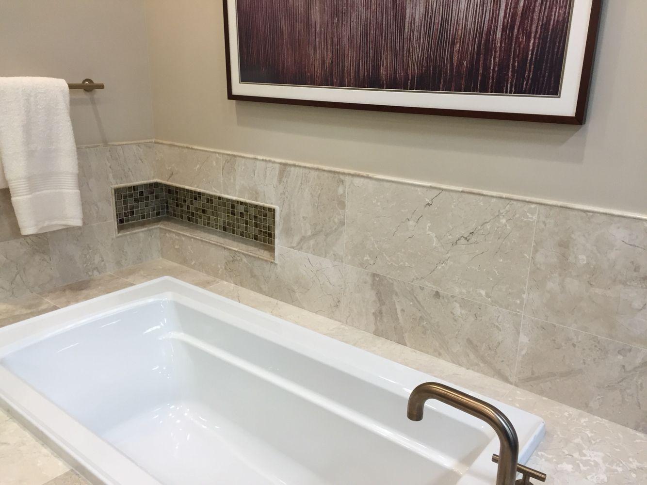 Wraparound Niche Master Bath Bath Bathroom